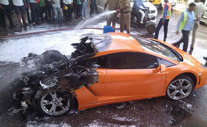 Lamborghini-Gallardo-fire